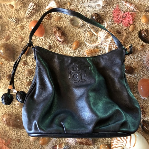 606284084e0a Tory Burch Leather Hobo with Protective Bag. M 5b22fe3f34a4ef89c08bc156